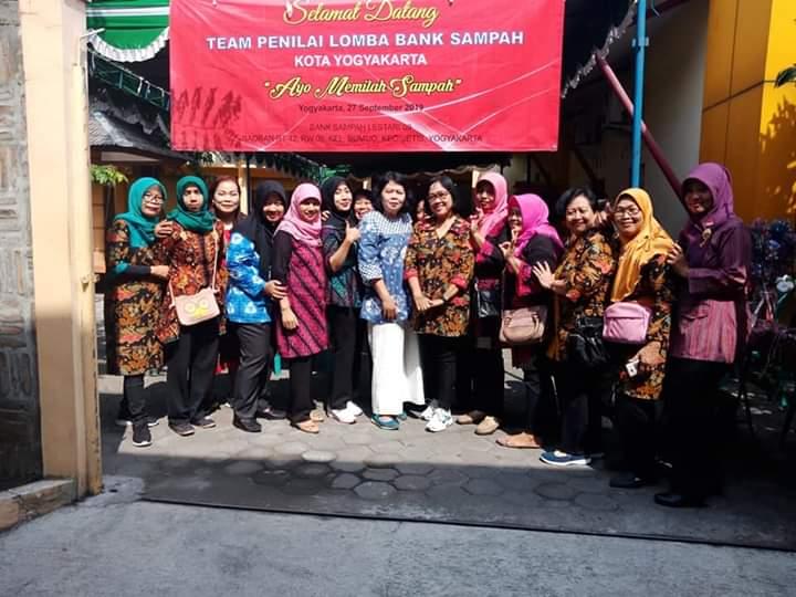 Lomba Bank Sampah Tingkat Kota Yogyakarta di RW 09 Kelurahan Bumijo