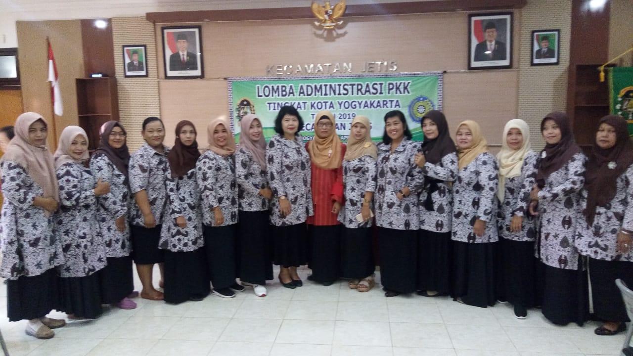 Lomba Administrasi PKK Tingkat Kota Yogyakarta