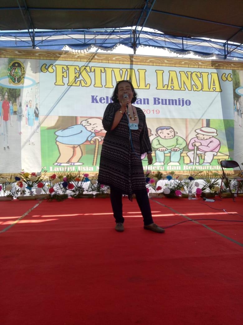 Festival Lansia Kelurahan Bumijo 2019