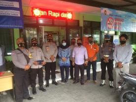 Kunjungan Tim Satgas Covid Polresta Yogyakarta Di Posko PPKM Kelurahan Bumijo