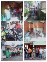 Penyerahan Bantuan Paket Sembako Dari Wawali Kota Yogyakarta dan Tim Jogja Bike Kepada Warga Terdampak Banjir Kali Buntung Di RT 17 RW 05 Kelurahan Bumijo